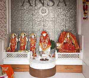 Mandir Interior Design In Mayapuri I New Delhi Delhi