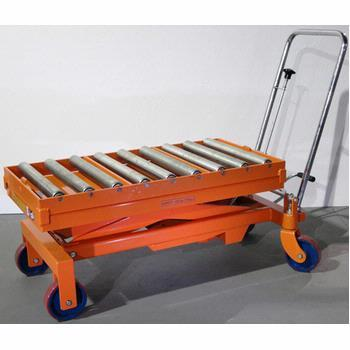 Roller Top Hydraulic Lift Table