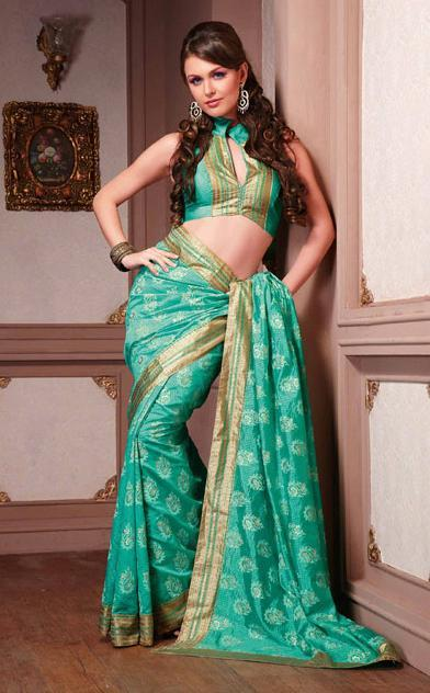 Exclusive Art Silk Printed Saree