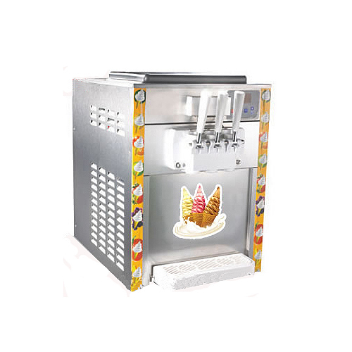 Three Nozzles Desktop Ice Cream Machine