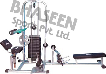 Back Extension, Abdominal Machine And Rowing Pulley