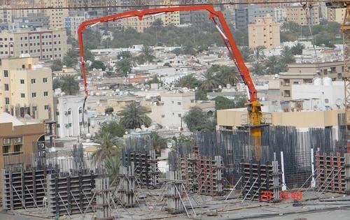 Concrete Placing Boom In Changsha Hunan China Changsha