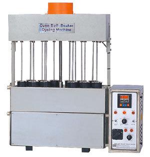 Open Bath Beaker Dyeing Machine