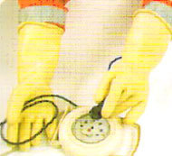 Industrial Electrical Hand Gloves