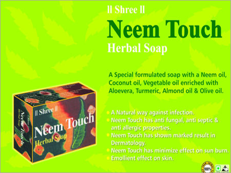 Neem Touch Herbal Soap