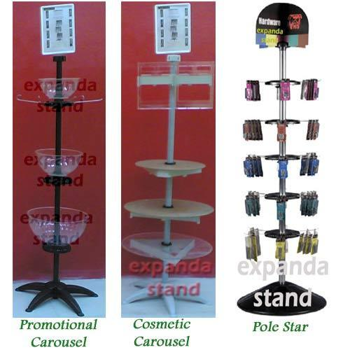 Pole Star Spinner Display System