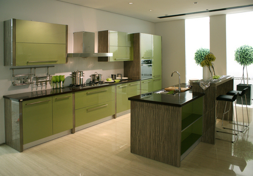 Laminated Kitchen Cabinets In Guangzhou Guangdong China GUANGDONG
