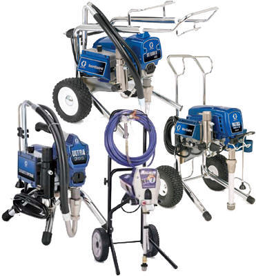Graco Airless Paint Spraying Machines