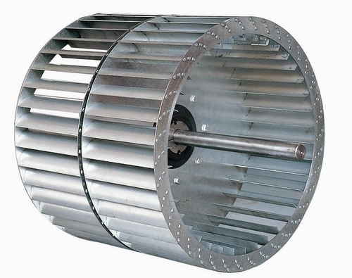 Centrifugal Fan Impellers : Aluminium centrifugal fan impeller for air condition in