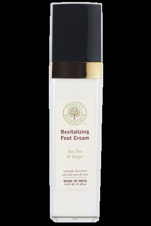 Revitalizing Foot Cream With Tea Tree & Ginger
