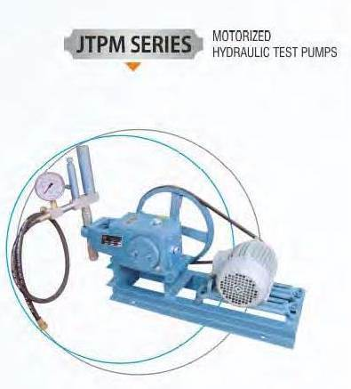 Motorised Hydraulic Test Pump
