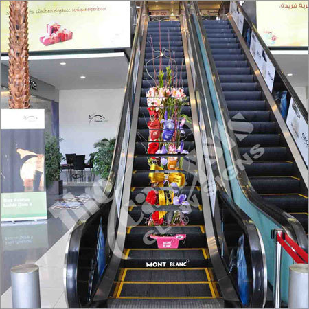 Escalator Wrap Advertising in Ludhiana, Punjab, India - THE ...