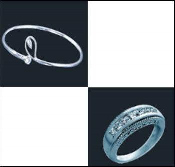 platinum ring in vivekananda road kolkata west bengal