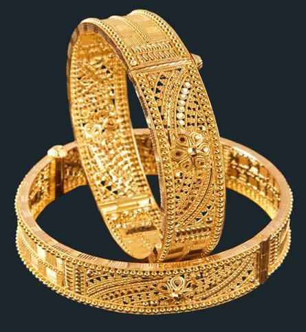 Indian Gold Bangles Designs