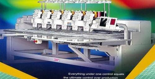 6 - Head Automatic Thick Embroidery Machine