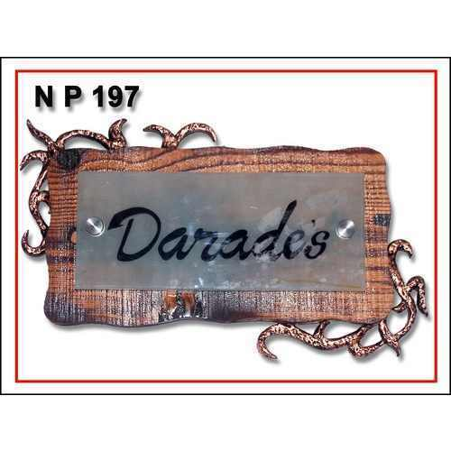 Indian Name Plate Designs For Home : thakurs art designer name plate designer name plate ranes one is