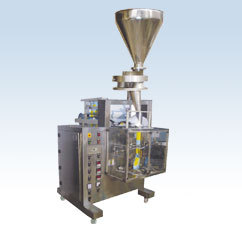 Automatic Form Fill Seal Machine (Collar Type) With Volumetric Cup Filling System