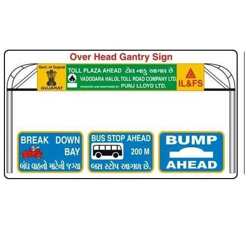 Overhead Gantry Signs