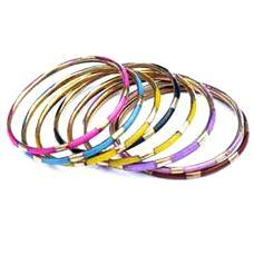 Decorative Brass Bone Bangles