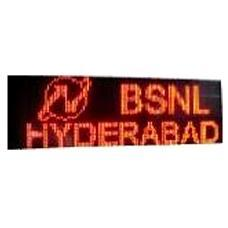 Multi Line LED Based Advertisement Boards