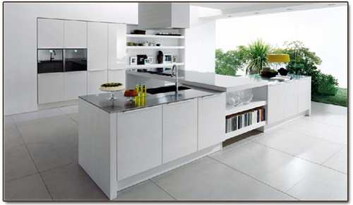 Aesthetic Modular Kitchen