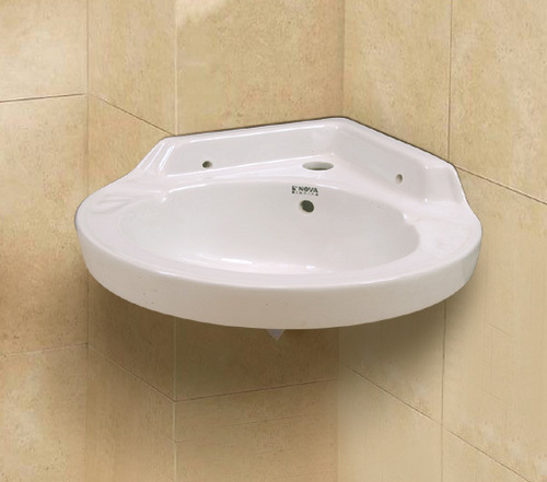 Corner Washbasins : ... specification of corner wash basins these corner wash basins