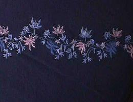 Floral Embroidery Pashmina Shawls