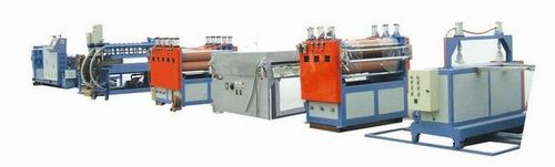 PC Hollow Grid Sheet Co-extrusion Line