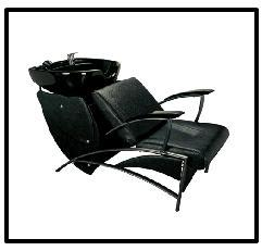 Shampoo Chair With Tilting Chair
