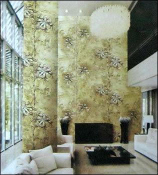 Living room wallpaper in sarangpur ahmedabad gujarat for Wallpaper for living room india