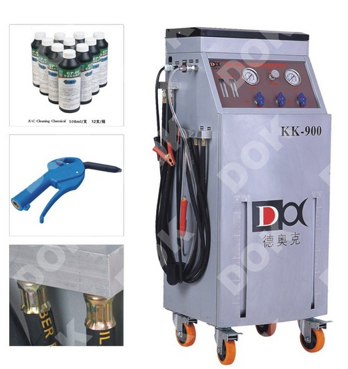 Automobile A/C Pipeline Cleaning Machine