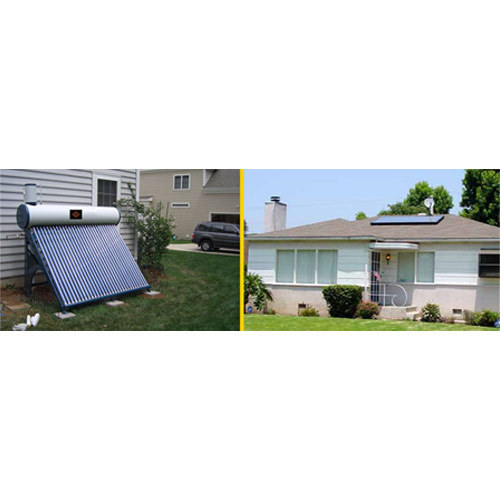 Etc Type Domestic Solar Water Heater