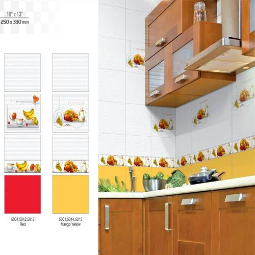 Luster White Kitchen Tiles