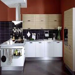 Modern kitchen cabinets in chennai tamil nadu india for Kitchen design in tamilnadu