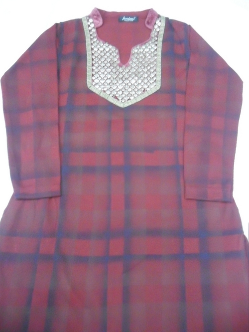 Ladies Woollen Kurtas