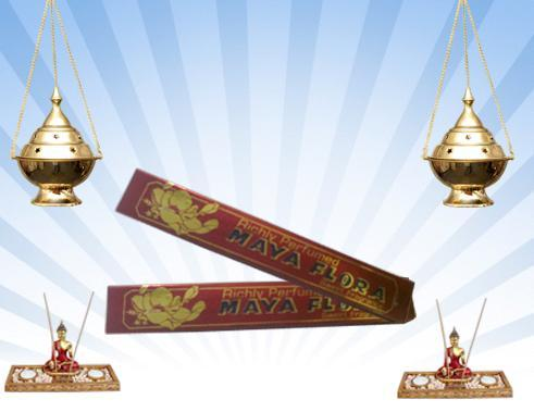 Maya Flora Incense Sticks