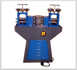 Double Head Roll Press Machine