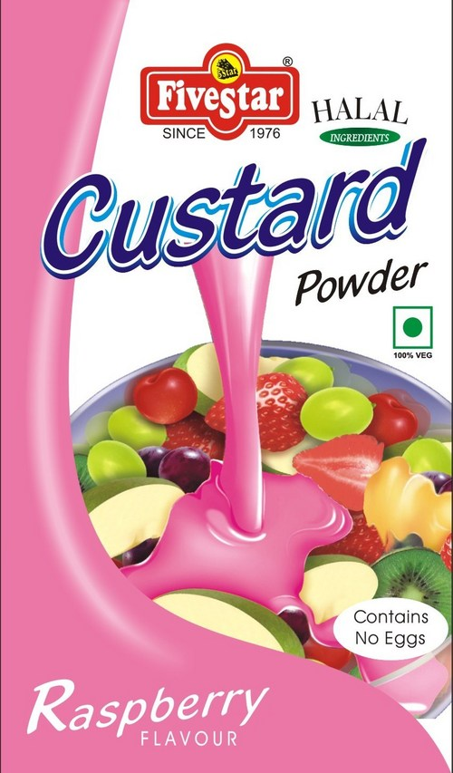 how to make custard powder in hindi