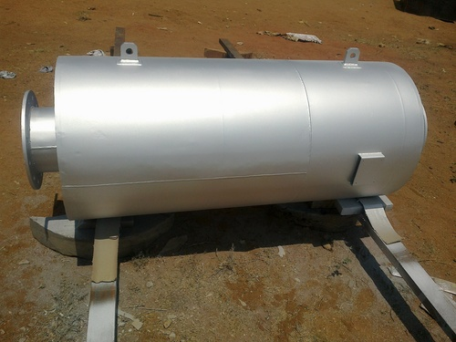 Engine Exhaust Silencer For 1.5mw Diesel Engine