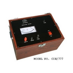 Insulation Tester (Motorised)