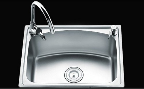 Single Bowl Stainless Steel Kitchen Sink Ky-H7050r