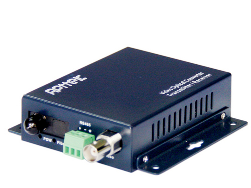 1-Channel Video+1-Channel Reverse Data RS485 Media Fiber Converter