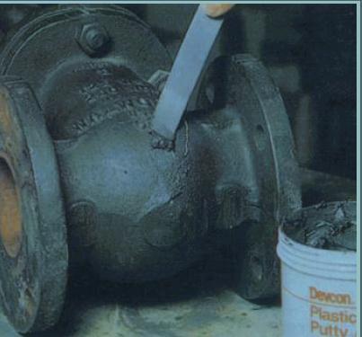 Industrial Plastic Steel Putty