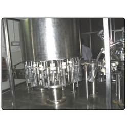 Manual Hot Fruit Juice Filling Machine
