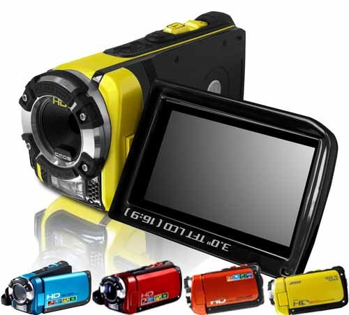 Water Proof Hd Digital Video Camera Camcorder