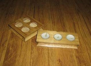 Bamboo Candle Stands