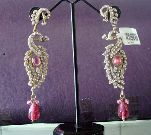 Victorian Earrings Imitation Jewellery