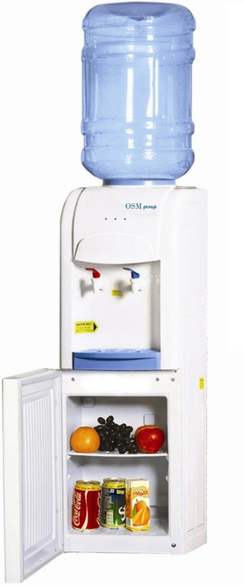 Hot And Cold Water Dispenser With Cooling Cabinet