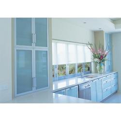 Aluminum modular kitchen fabrication services in mahavir for Modular kitchen designs aluminium