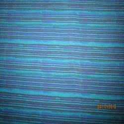 Multi-Coloured Striped Thethan Print Fabrics